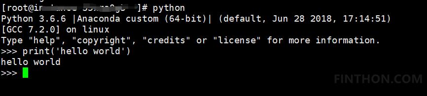 《运行Python》