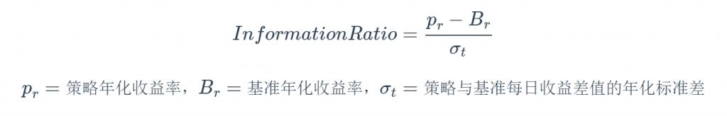 《量化策略风险评价指标总结》