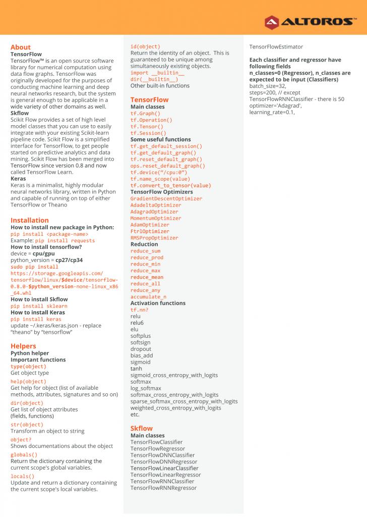 《Python最全数据科学速查表》
